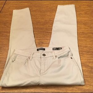 Buffalo David Britton Sz 4/27 Women's Gray Pants